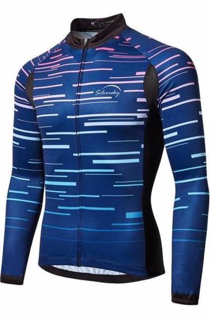 Light Speed - Men's Summer Long Sleeve Cycle Jersey